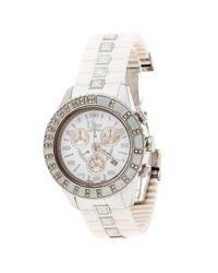 Dior Metallic Christal Chronographe Uhren