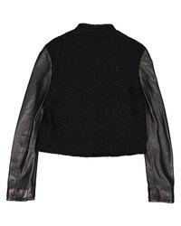 Chaqueta corta de Lana Givenchy de color Black