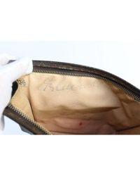 Louis Vuitton Brown Leder Clutches
