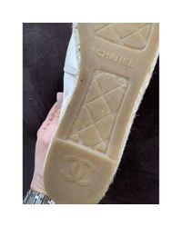 Chanel Multicolor Samt Espadrilles