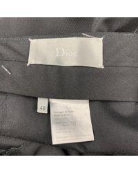 Dior Wolle Hosen in Black für Herren