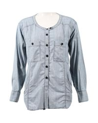 Top en Coton Bleu Étoile Isabel Marant en coloris Blue