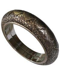 Bottega Veneta Metallic Silver Silver Bracelets