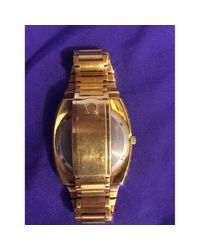 Omega Metallic Other Gold Plated for men