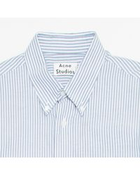 Acne White Shirt for men