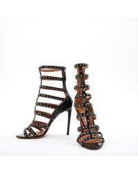 Alaïa Black Patent Leather Heels
