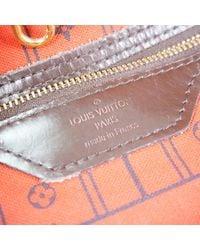 Louis Vuitton Multicolor Neverfull Leinen Shopper