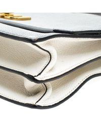 Miu Miu Gray Madras Leder Handtaschen