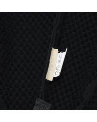 Alaïa Black Wool Mid-length Skirt