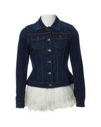 Burberry Blue Jacke Denim - Jeans Blau