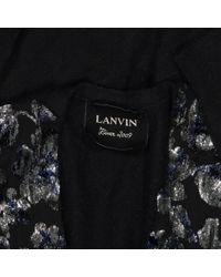 Pull.Gilets en Laine Noir Lanvin en coloris Black