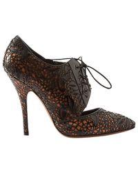 Alaïa Black Pre-owned Patent Leather Heels