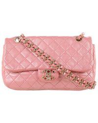 Chanel Pink 2.55 Leder Handtaschen
