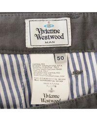 Pantaloni di Vivienne Westwood in Gray da Uomo