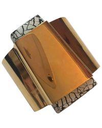 Isabel Marant - Metallic Pre-owned Gold Metal Bracelet - Lyst