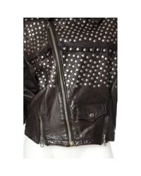 Chaqueta en cuero Jean Paul Gaultier de color Black