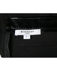 Pantalones en viscosa negro Givenchy de color Black