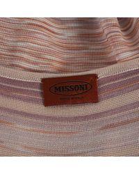Missoni Multicolor Multicolour Viscose Dress