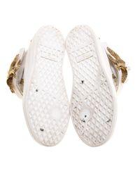 Giuseppe Zanotti White Leder Sneakers