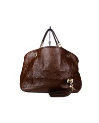 Bolsa de mano en cuero marrón Whisper Louis Vuitton de color Brown