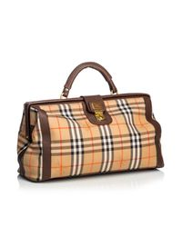 Burberry Brown Cloth