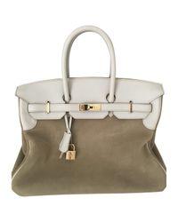 Hermès Natural Birkin Handbag