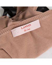 Lanvin \n Pink Silk Top