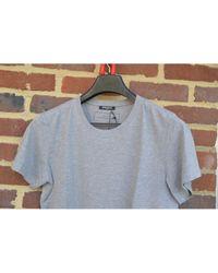Tee shirts Balmain pour homme en coloris Gray