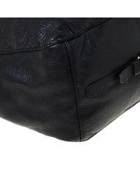 Carolina Herrera Black Leder Handtaschen