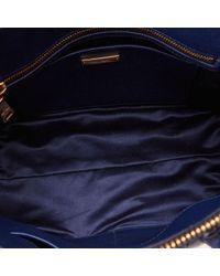 Bolso de Cuero Miu Miu de color Blue