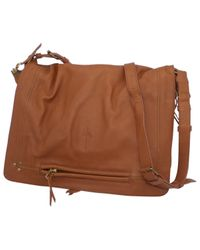 Jérôme Dreyfuss Brown Albert Leder Cross Body Tashe