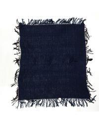 Echarpe en laine Balmain en coloris Blue