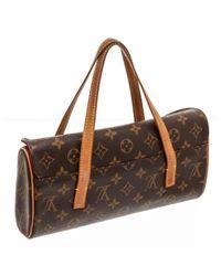 Borsa a mano in tela marrone Sonatine di Louis Vuitton in Brown
