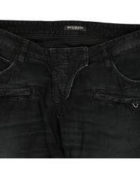 Pantalon slim Balmain en coloris Black