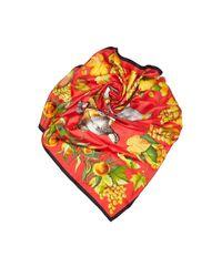 Hermès Red Seide Schals
