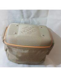 Bolso de viaje de Lona Louis Vuitton de color Gray