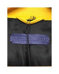 Bottega Veneta Blue Leder Blazer