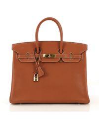 Hermès Brown Birkin 35 Leder Handtaschen