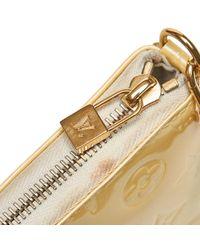 Louis Vuitton White Patent Leather