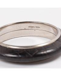 Bottega Veneta Pre-owned Black Leather Bracelets