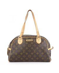 Louis Vuitton Multicolor Montorgueil Leinen Handtaschen