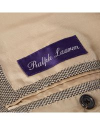 Ralph Lauren Collection Kaschmir Blouson in Gray für Herren