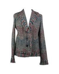 Missoni Gray Pre-owned Wool Short Vest