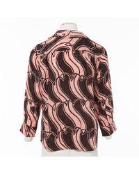 Top en Soie Rose Marc Jacobs en coloris Pink