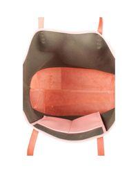 Bolsa de mano en cuero rosa Mansur Gavriel de color Pink