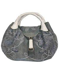 Fendi Gray Spy Handtaschen