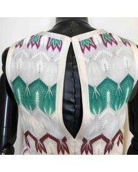 Robe en Viscose Blanc Missoni en coloris White