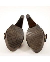 Burberry Black Leather
