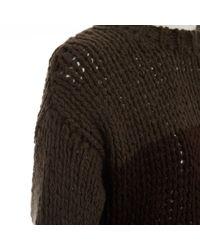 Pull-over en laine Marni en coloris Brown