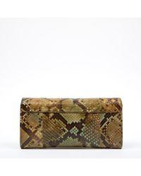 Chloé Green Python Portemonnaies